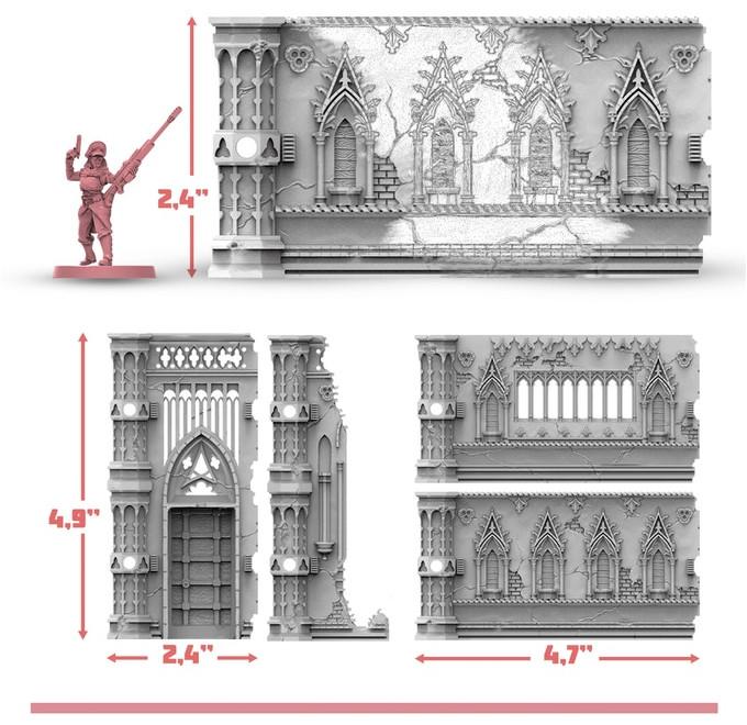 Archon Studio: Rampart Terrain Kickstarter – Brückenkopf