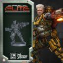CoolMiniorNot Project Elite Kickstarter Preview Sergeant Gherid Bennett
