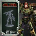 CoolMiniorNot Project Elite Kickstarter Preview Sergeant Kara Raimes