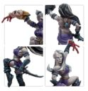 Forge World Blood Bowl The Night Terrors Dark Elf Cheerleading Squad 2