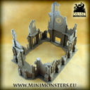 Mini Monsters Ruins Of Gothic Cathedral 06