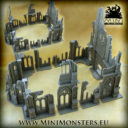 Mini Monsters Ruins Of Gothic Cathedral 10