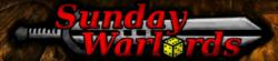 Sunday Warlords Logo