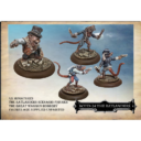 West Wind Productions Empire Of The Dead BOTD 24 The Great Waggon Robbery (Ratlanders Scenario Figures)