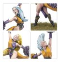Forge World Blood Bowl Elfheim Eaglettes Elf Cheerleading Squad 2