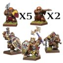 MG Dwarf Warband Set 1