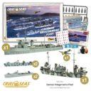 WG Warlord Cruel Seas Kriegsmarine Fleet 2