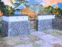 3d Alien Worlds Samurai Casrel Walls31A