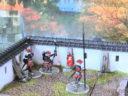 3d Alien Worlds Samurai Casrel Walls31G