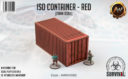 Antenocitis Workshop ISO Container – Red 1