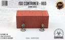 Antenocitis Workshop ISO Container – Red 2