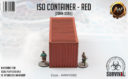 Antenocitis Workshop ISO Container – Red 3