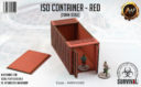 Antenocitis Workshop ISO Container – Red 5