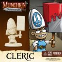 CoolMiniOrNot Munchkin Dungeon Preview Cleric