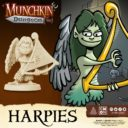 CoolMiniOrNot Munchkin Dungeon Preview Harpies