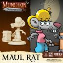 CoolMiniOrNot Munchkin Dungeon Preview Maul Rat