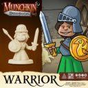 CoolMiniOrNot Munchkin Dungeon Preview Warrior