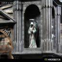 Kromlech Hive City Grim Reaper Statue 05