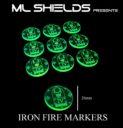 ML Shields Iron Fire Markers