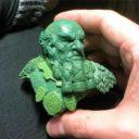 Scibor Monstrous Miniatures Dwarf Bust Green 1