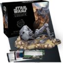 Fantasy Flight Games Star Wars Legion Downed AT ST Battlefield Expansion 3