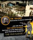 Flame Drop Games OMEGA WAR CLOSE FUTURE MINIATURE WARGAME 2