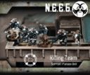 Flame Drop Games OMEGA WAR CLOSE FUTURE MINIATURE WARGAME 7