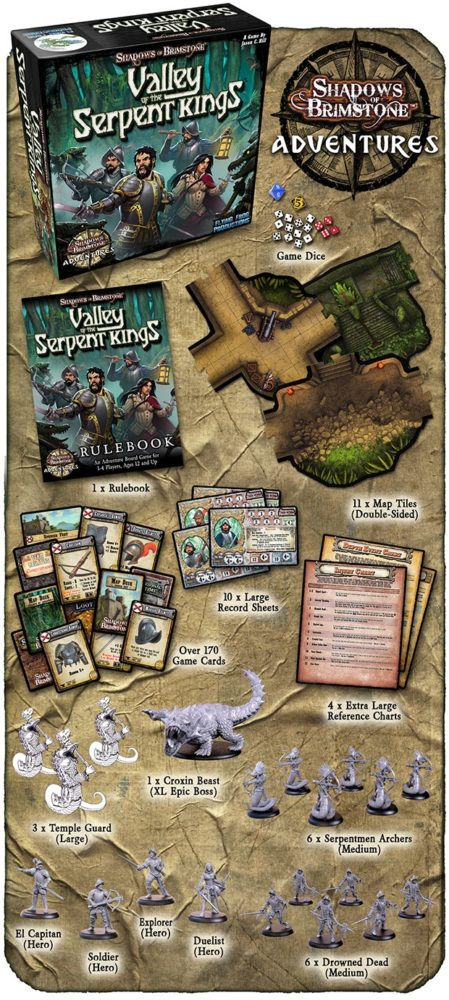 Shadows of Brimstone: Adventures Kickstarter – Brückenkopf