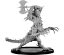 Mierce Miniatures KHOLUKK, OGRE DRAKE OF THE GRIMWALD WITH UNHELMED HEAD AND AXE