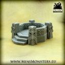 Mini Monsters Dwarf Command Post 01
