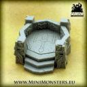Mini Monsters Dwarf Command Post 02