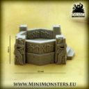 Mini Monsters Dwarf Command Post 04