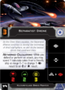 Fantasy Flight Games Star Wars X Wing Vulture Class Droid Fighter Expansion 4