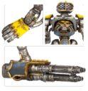 Games Workshop Adeptus Titanicus Reaver Titan Waffen Gatlingblaser, Energiefaust, Multilaserkanone Und Apokalypse Raketenwerfer 2