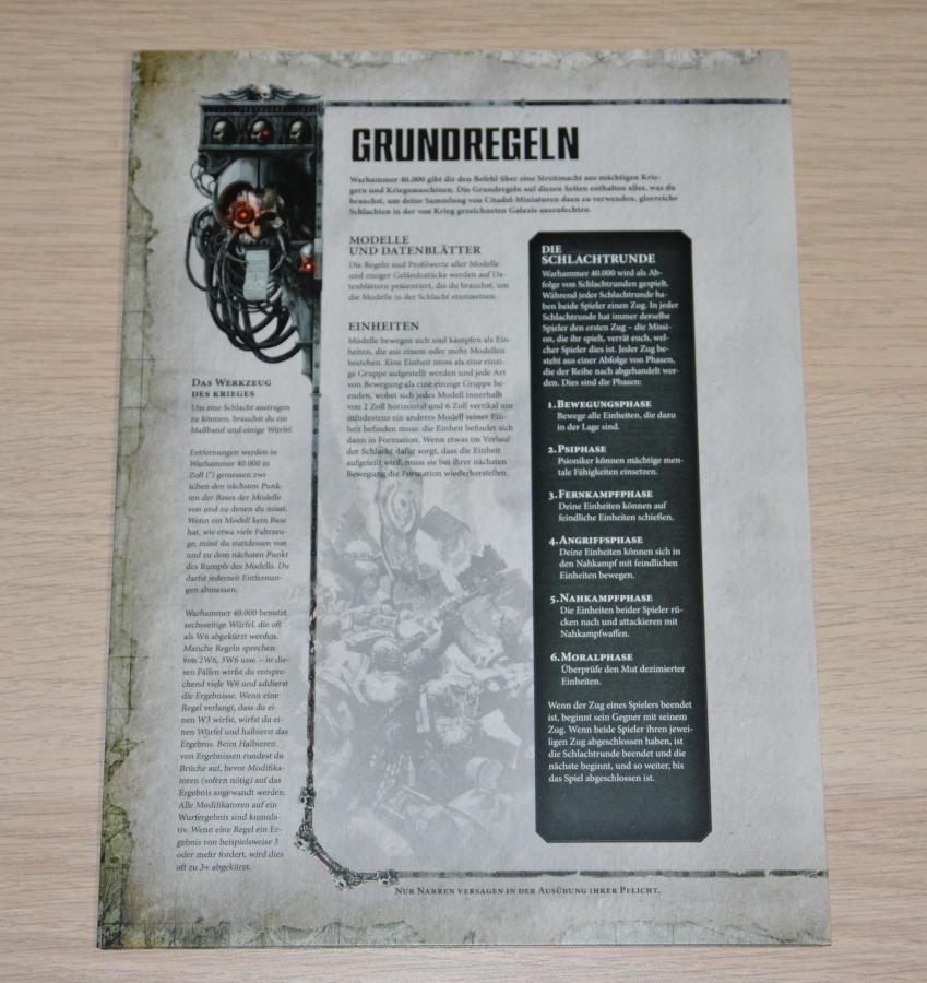 Review: Warhammer 40 000 Schattenspeer – Brückenkopf-Online