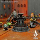 Kromlech Hive City Fountain 08