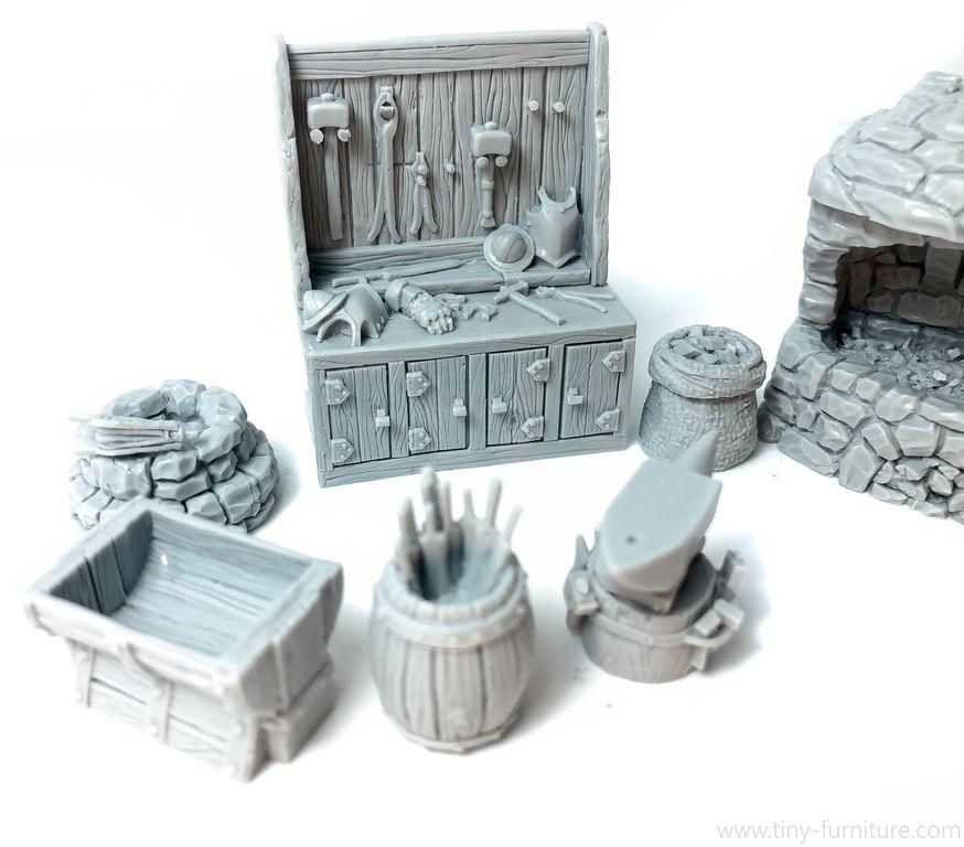 Tiny Furniture Schmiede Und Bucherregale Bruckenkopf Online Com