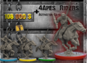 WYSIWYG Planet Of The Apes The Miniatures Boardgame 11