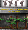 WYSIWYG Planet Of The Apes The Miniatures Boardgame 28