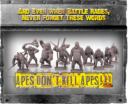 WYSIWYG Planet Of The Apes The Miniatures Boardgame 31
