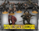 WYSIWYG Planet Of The Apes The Miniatures Boardgame 32