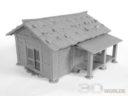 3DAlienWorlds Samurai Bauernhäuser11