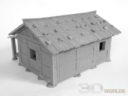 3DAlienWorlds Samurai Bauernhäuser12