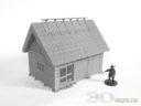 3DAlienWorlds Samurai Bauernhäuser15