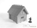 3DAlienWorlds Samurai Bauernhäuser16