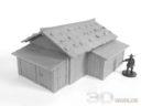 3DAlienWorlds Samurai Bauernhäuser19
