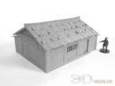 3DAlienWorlds Samurai Bauernhäuser20