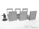 3DAlienWorlds Samurai Bauernhäuser3