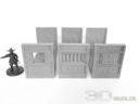 3DAlienWorlds Samurai Bauernhäuser4