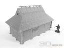 3DAlienWorlds Samurai Bauernhäuser8